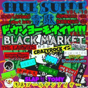 BLUE SUEDE 雪駄 vol.10